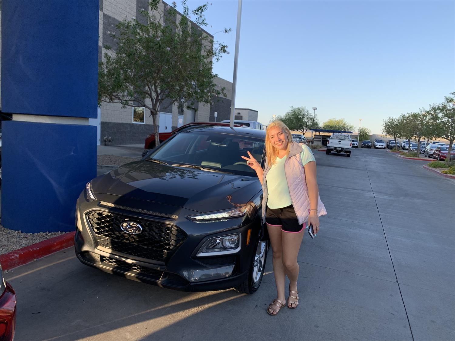 Christilyn S New 2020 Hyundai Kona Congratulations And Best Wishes From Henderson Hyundai Super Hyundai Dealership New Hyundai Congratulations And Best Wishes