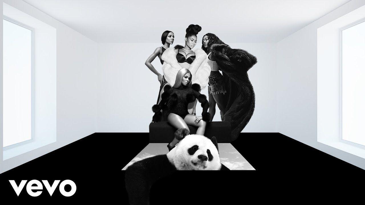 Nicki Minaj Panda Mc Freestyle Feat Lady Leshurr Lil Mama Lil Kim Mashup Youtube Nicki Minaj Instagram Panda
