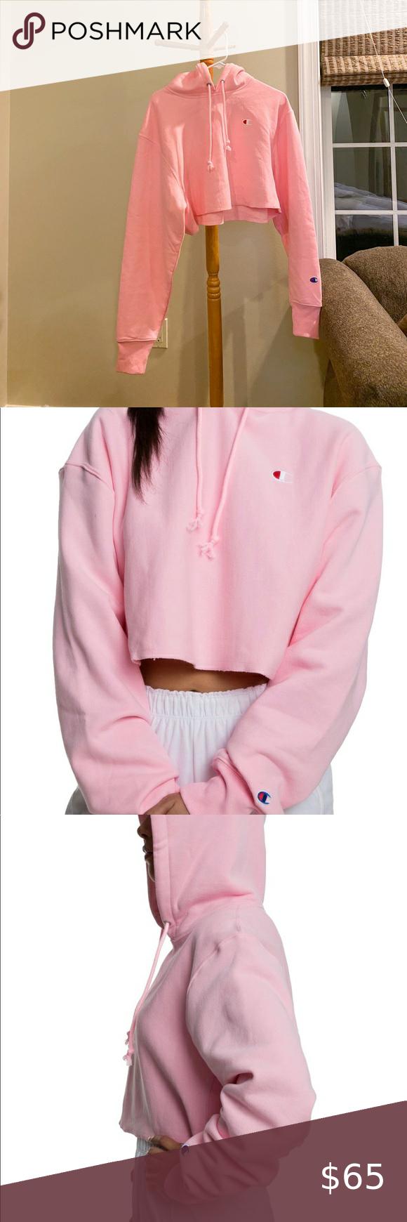 Cropped Pink Champion Hoodie Champion Hoodie Pink Champion Hoodie Hoodies [ 1740 x 580 Pixel ]