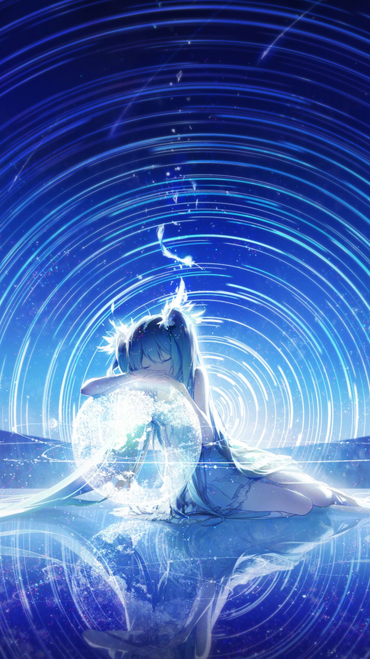Nightcore Gravity anime wallpaper for Iphone and Androi