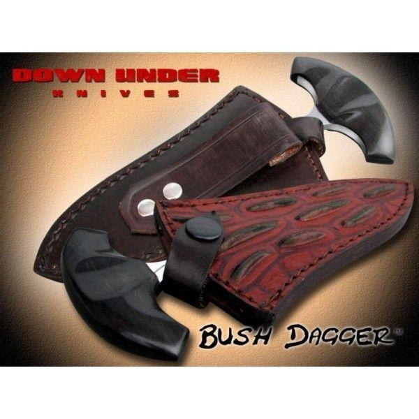 Push Dagger Knives | DUKBD Down Under Knives Bush Dagger - PUSH DAGGER 440C FINLAND ...