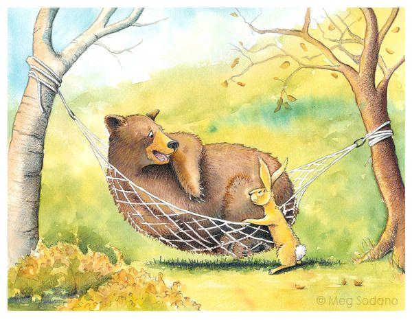 Children S Book Portfolio Tiere Buchzeichnung