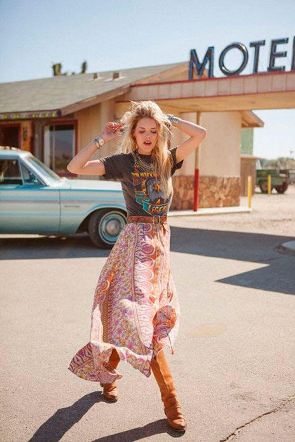 11 Maneiras de Usar T-shirt em um Look Cool para o Lolla » STEAL THE LOOK 5
