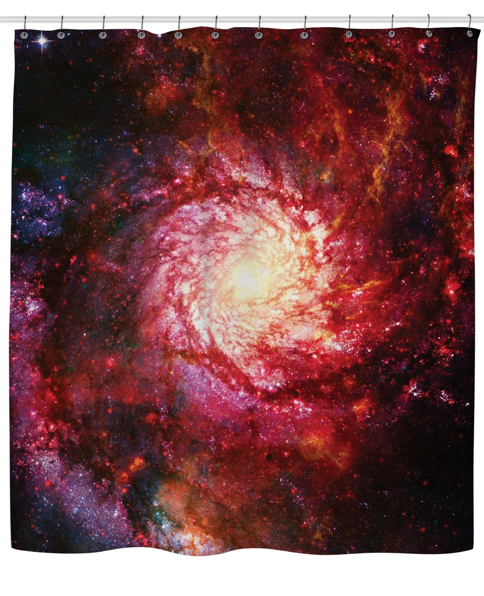 Space Eye Shower Curtain Shower Curtains Pinterest Products