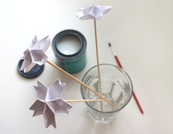 using polycrylic coating on origami how about orange crafting pinterest. Black Bedroom Furniture Sets. Home Design Ideas