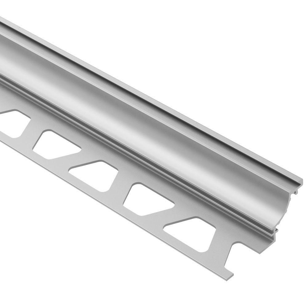 Schluter Dilex Ahk Satin Anodized Aluminum 3 8 In X 8 Ft 2 1 2