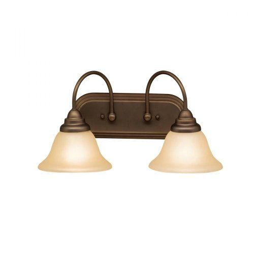Astonishing Kichler Lighting 5992Oz 2 Light Telford Bathroom Light Olde Interior Design Ideas Inesswwsoteloinfo