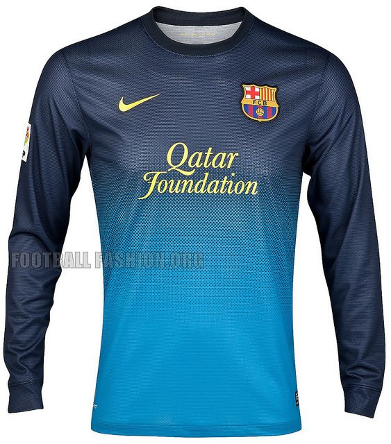 FC Barcelona Nike 2012 13 Home Goalkeeper Kit Soccer Uniforms 980802afb027a
