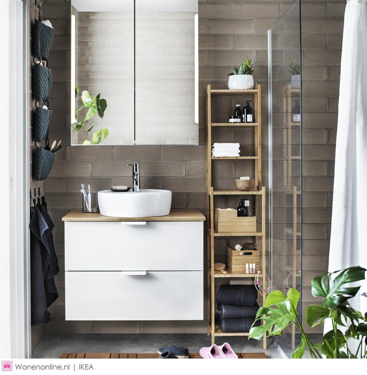 IKEA badkamer | Badkamer | Bathroom gespot door Wonenonline.nl ...