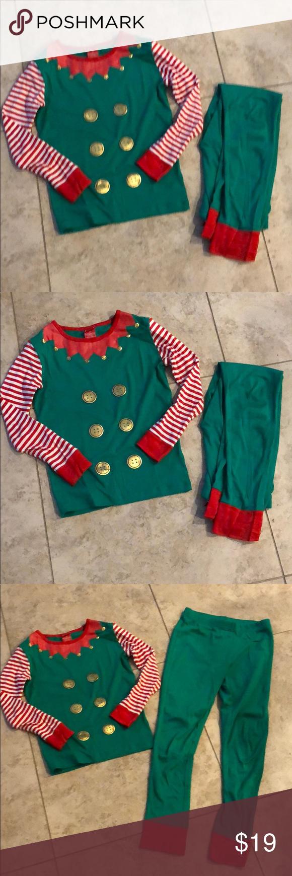 Target Christmas Pajamas Size 10 Target. Only worn once