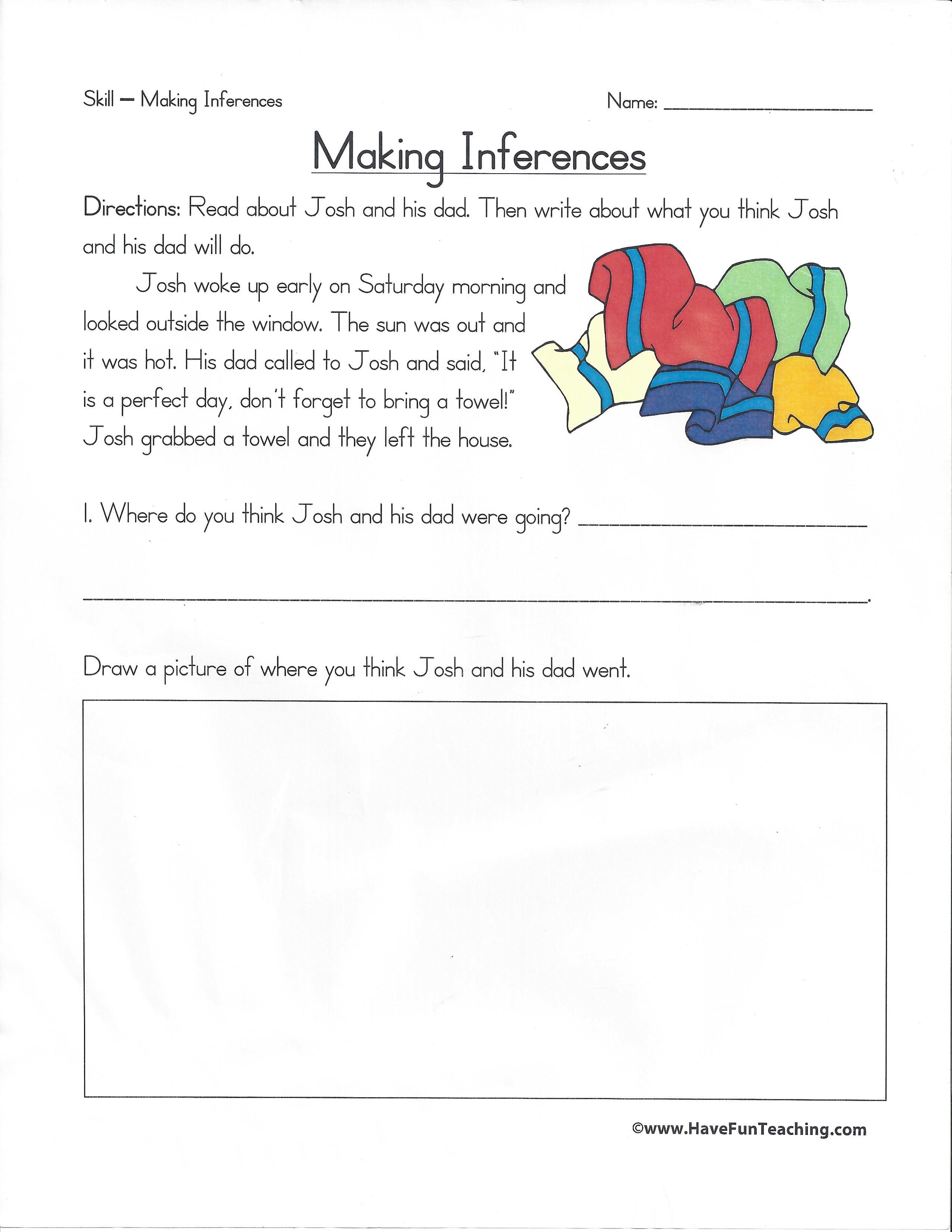 Making Inferences Visit Us At 8speech And Meet