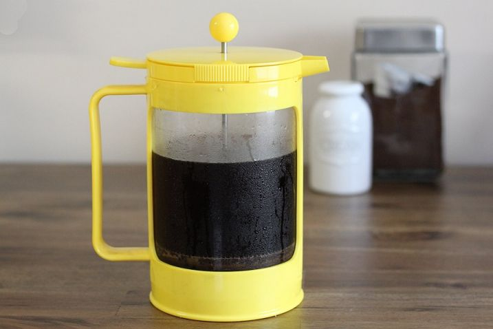 On Spring And The Most Perfect Homemade Iced Coffee Homemade Iced Coffee Iced Coffee Maker French Press Iced Coffee