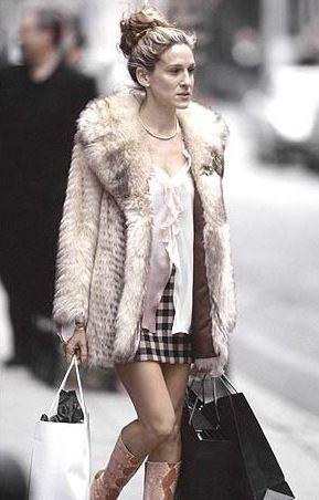 Sex and the city coat