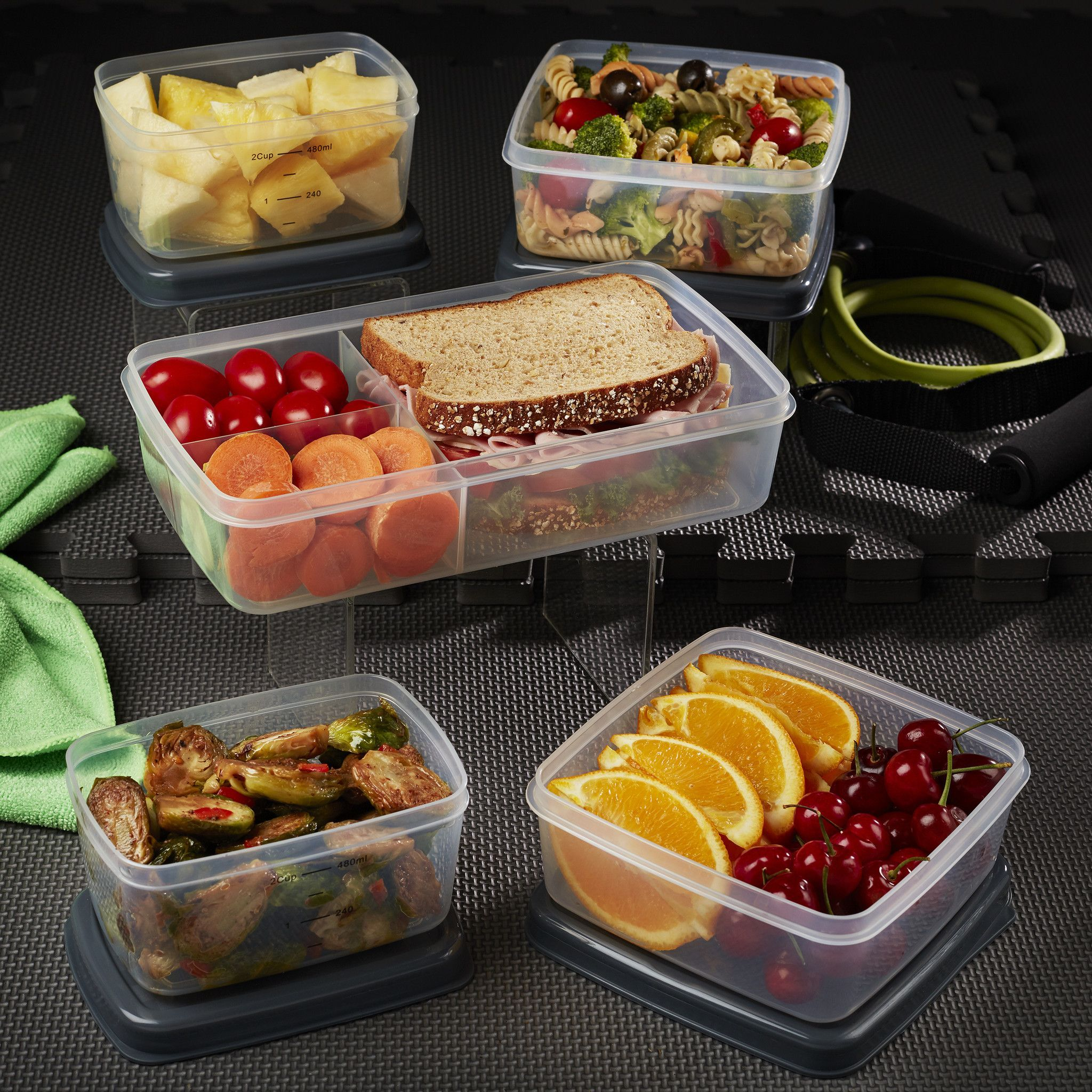 8019ed97b517 Set of replacement containers for FitPak XL. Set includes 2 Two Cups ...