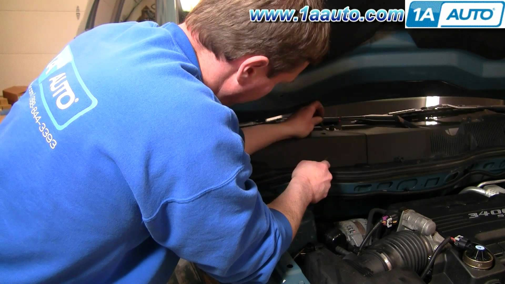 How To Install / Replace Cabin Air Filter 0509 Chevy