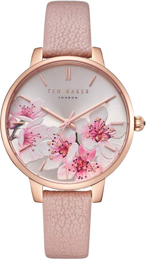 754586612 Ted Baker Kate Leather Strap Watch, 38mm   Products in 2019   Ted ...