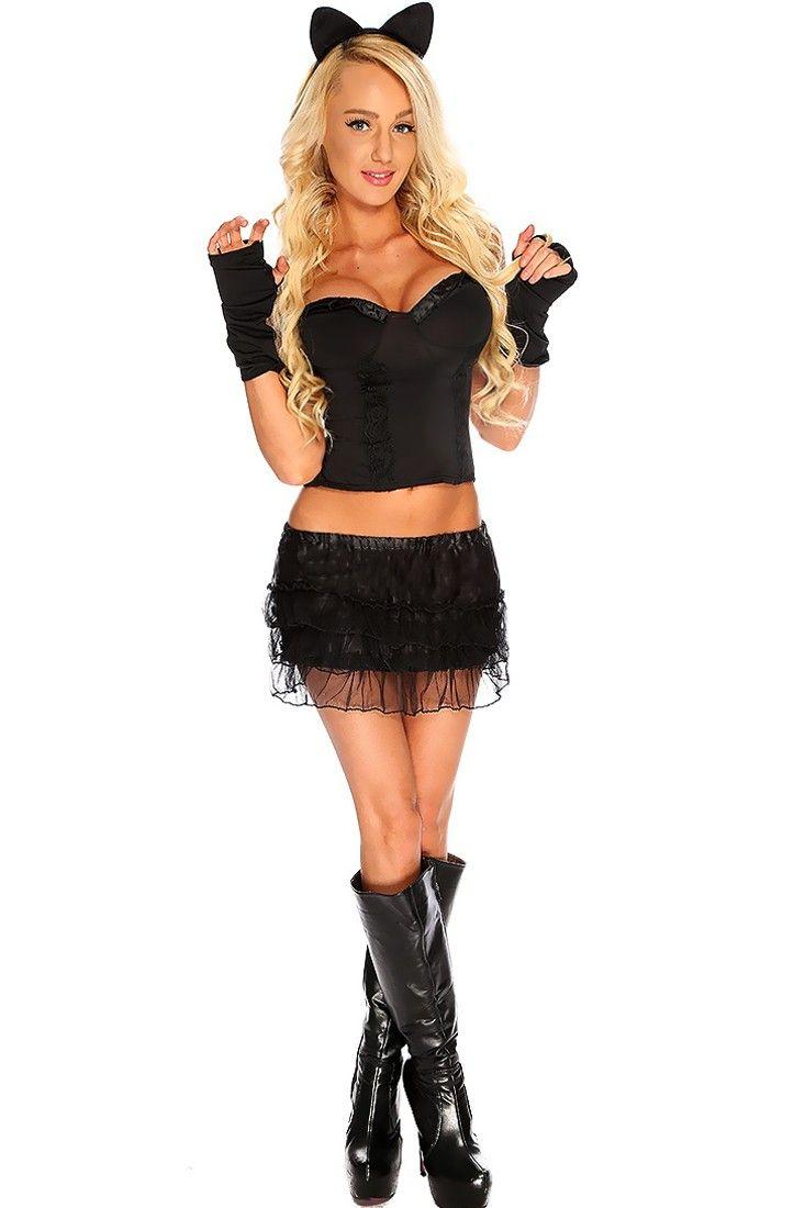35a7c96131e Idea for Dalmation costume | Costume Ideas in 2019 | Cat costumes ...