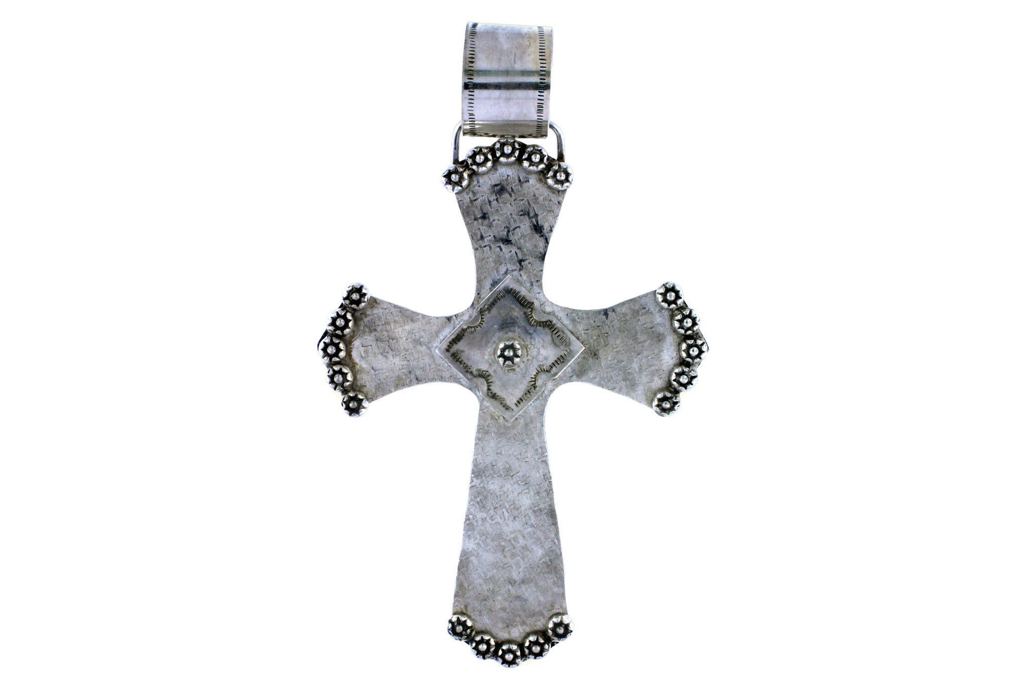 Sterling Silver Cross By Gary Glandon