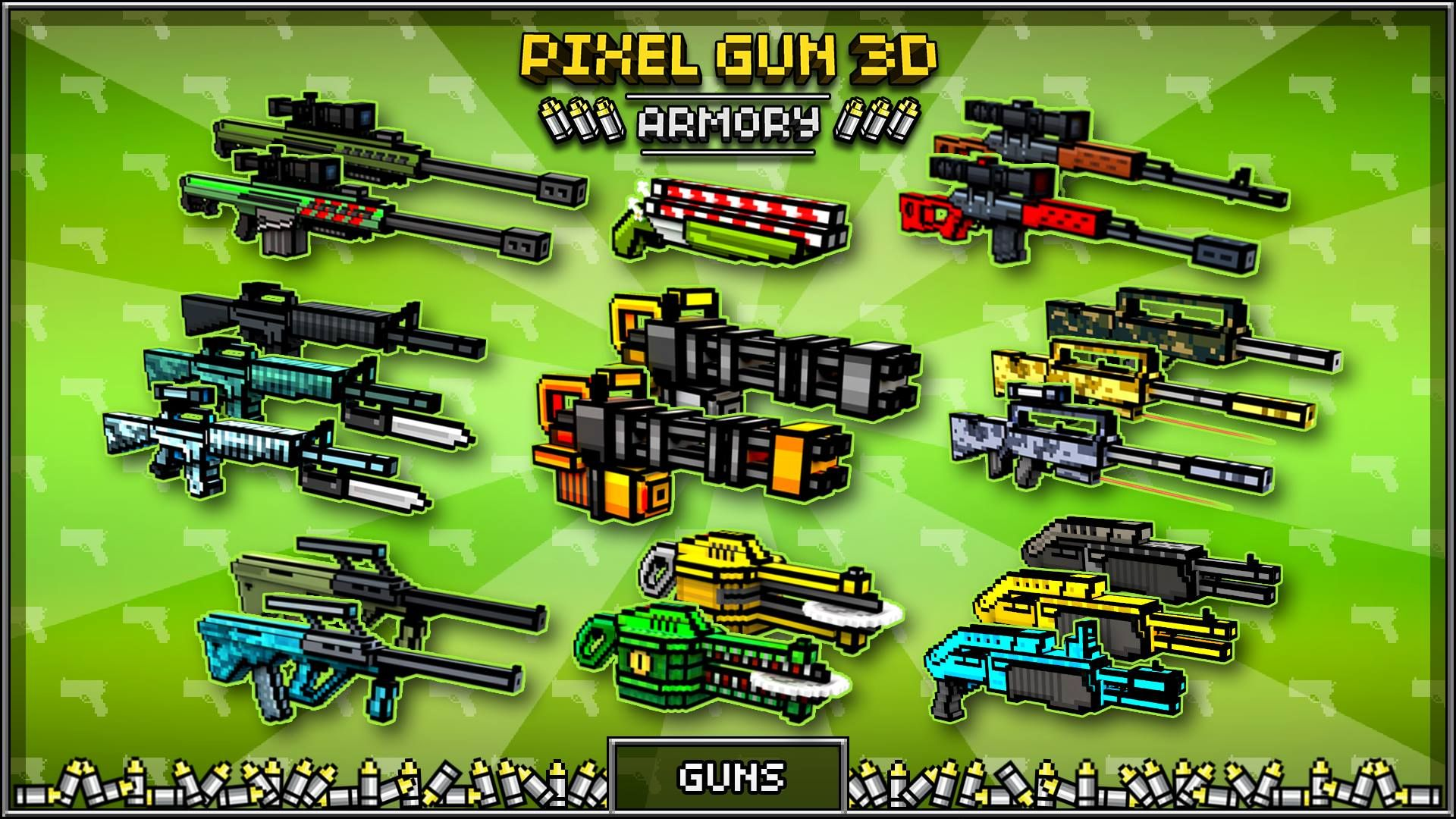 hack apk pixel gun 3d