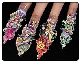 Nailpro competition style nails 2009 i love it pinterest nailpro competition style nails 2009 prinsesfo Images