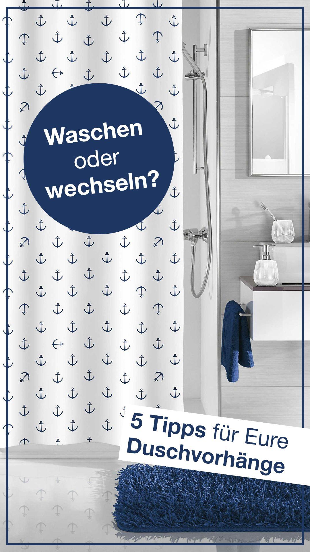 1️⃣ Duschvorhang nach dem Duschen wieder richtig aufziehen
