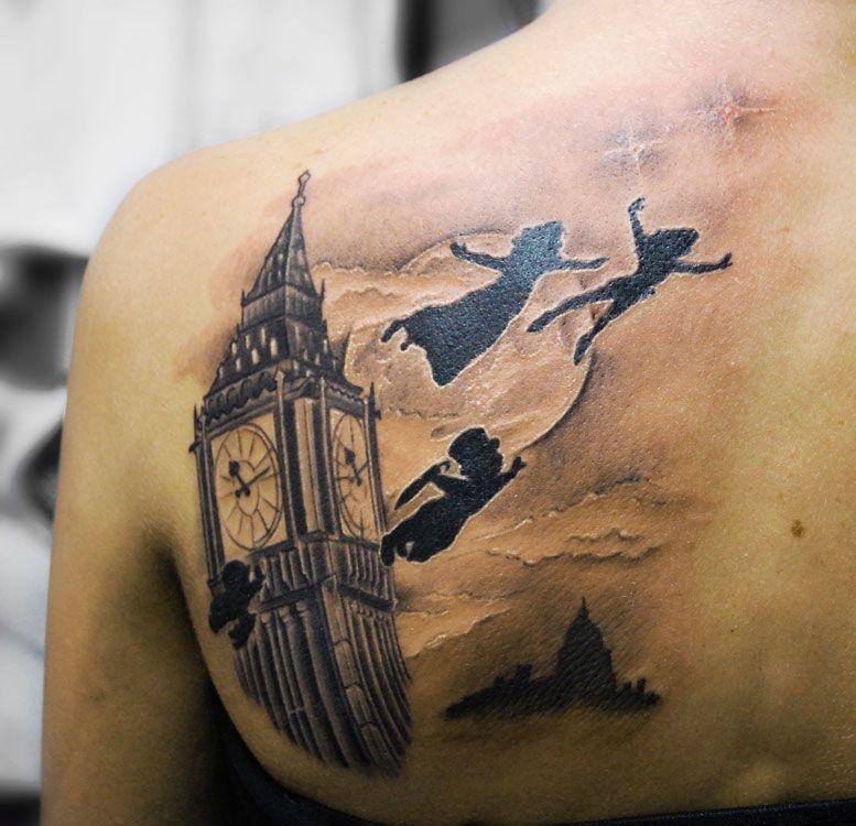 Peter Pan Tattoo Ideas