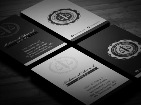 Editable Print Ready Creative Lawyer Business Card Professional - Lawyer business card template