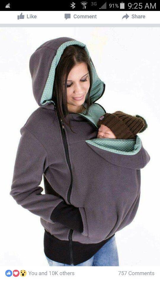 Jacket/kangaroo pouch
