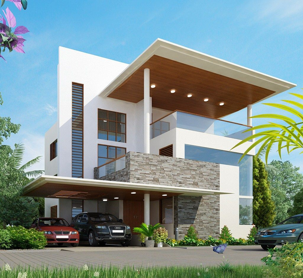 Images For Simple House Design With Second Floor Fachadas Casas