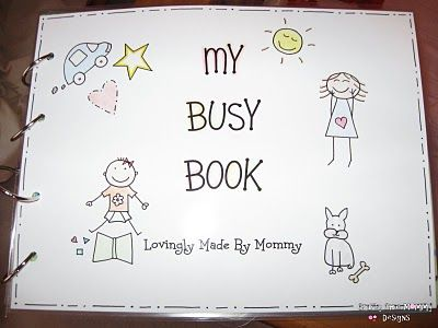 Crafty Chic Mommy Diy Kids Busy Book Tips For Tots Tuesday Busy Book My Busy Books Diy Busy Books