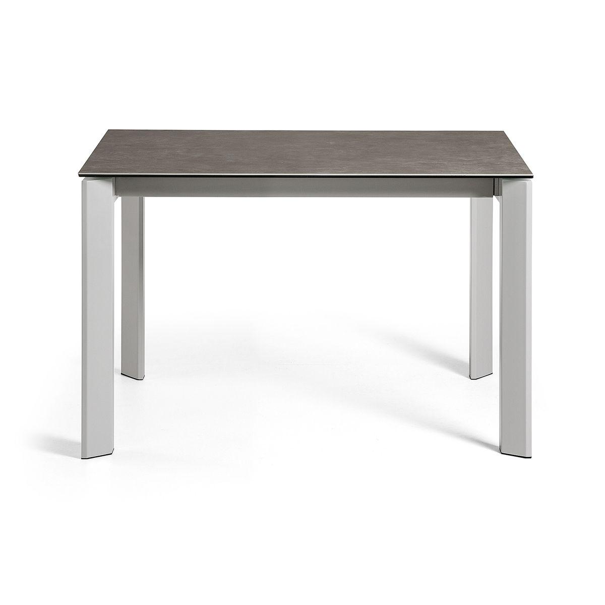 Table Extensible Axis 120 180 Cm Grès Cérame Finition