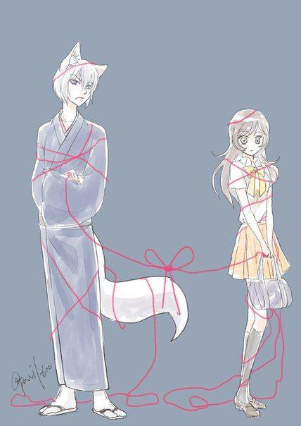 Destined to be together. #Nanami #Tomoe #Kamisama #Hajimemashita