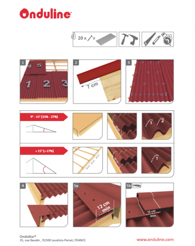 Onduline Easy And Lightweight Roofing Systems Roofing Systems Roofing System
