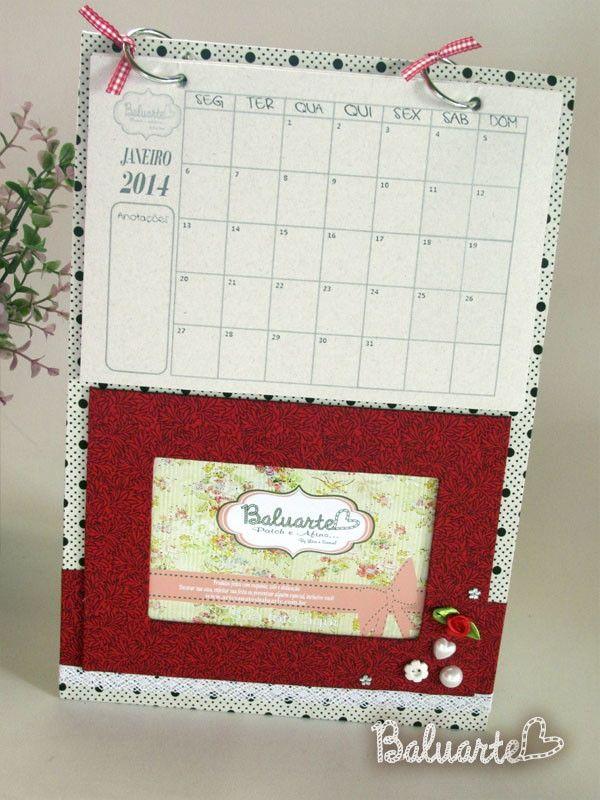 Calendario de pared Locket | Patchwork | Pinterest | Calendario de ...
