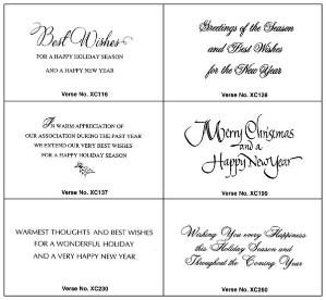 Card Sentiments Verse Selections For The Inside Message Of Your Thanksgiving Card Christmas Card Sayings Christmas Card Verses Christmas Card Sentiments