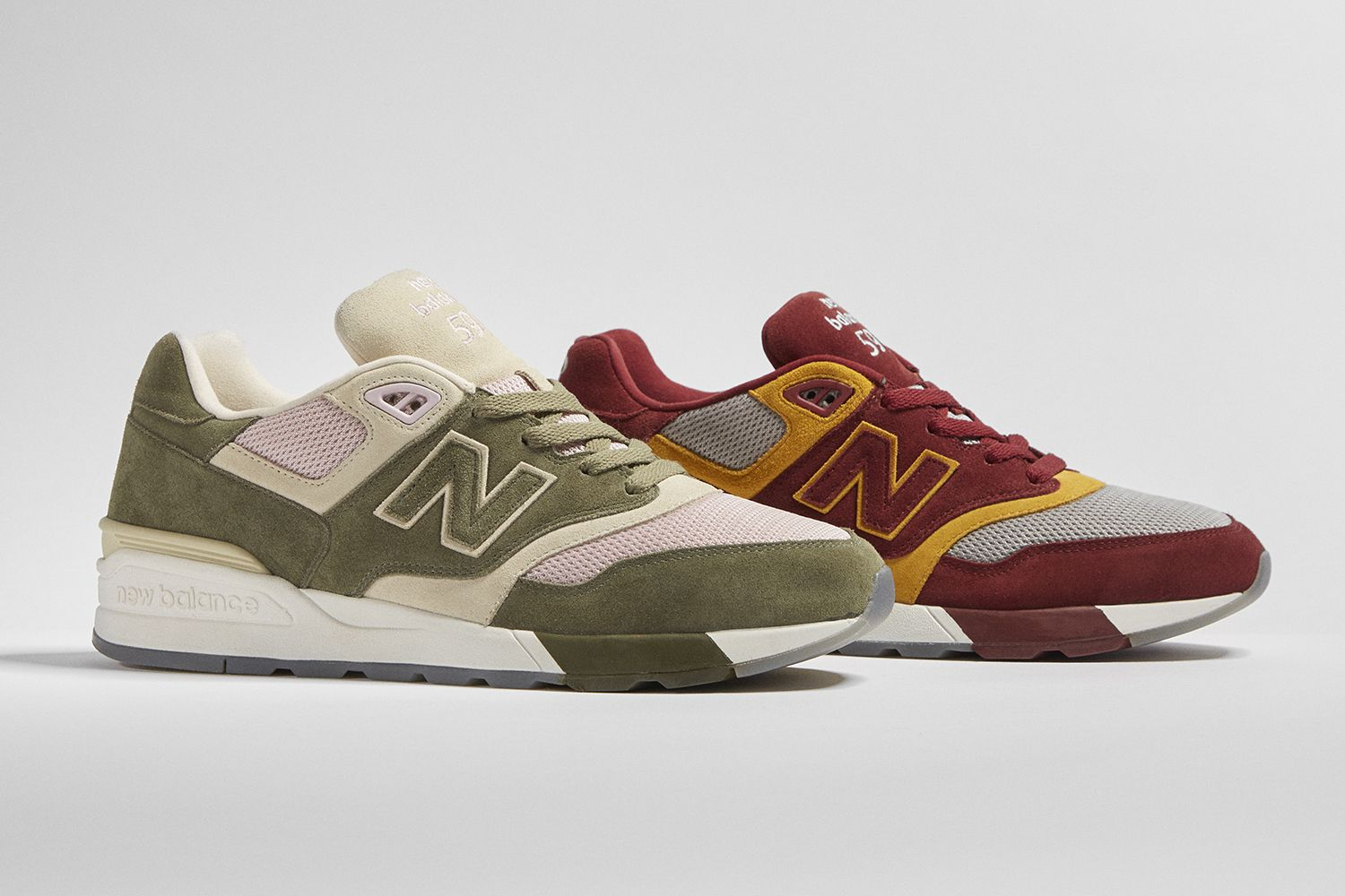 new balance 597 bordeux
