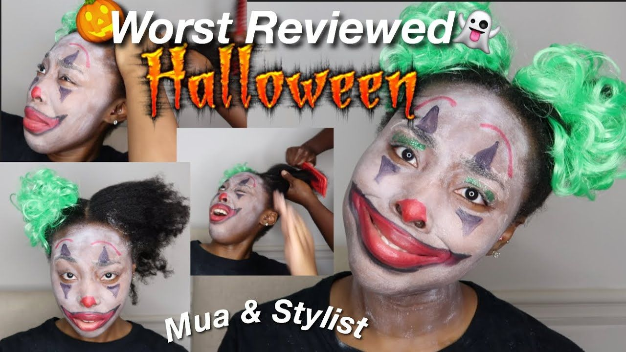 I WENT TO THE WORST REVIEWED HALLOWEEN MAKEUP ARTIST