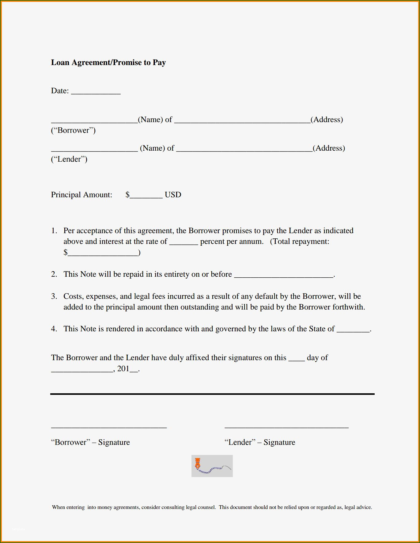 Promise To Pay Template 15 Design You Ll Want To Copy Immediately Personal Financial Statement Invoice Template Newspaper Template