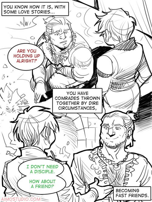 If Varric were a LI . . . all over that.