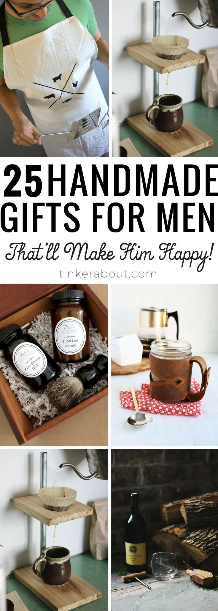 25 modern gifts for him perfect for fathers day or birthday looking for great diy gifts for men look no further this post is a solutioingenieria Choice Image