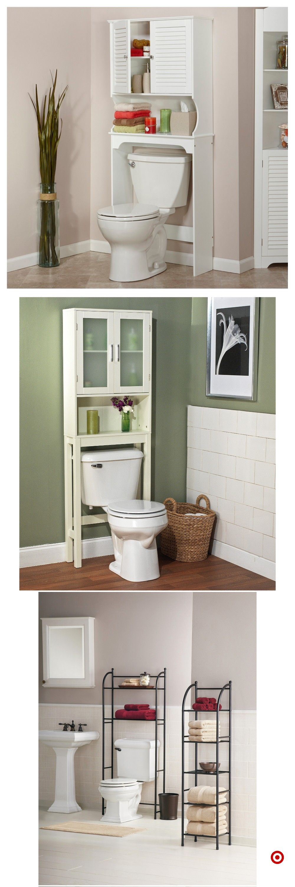 Shop Target for over the toilet etagere you will love at great low ...