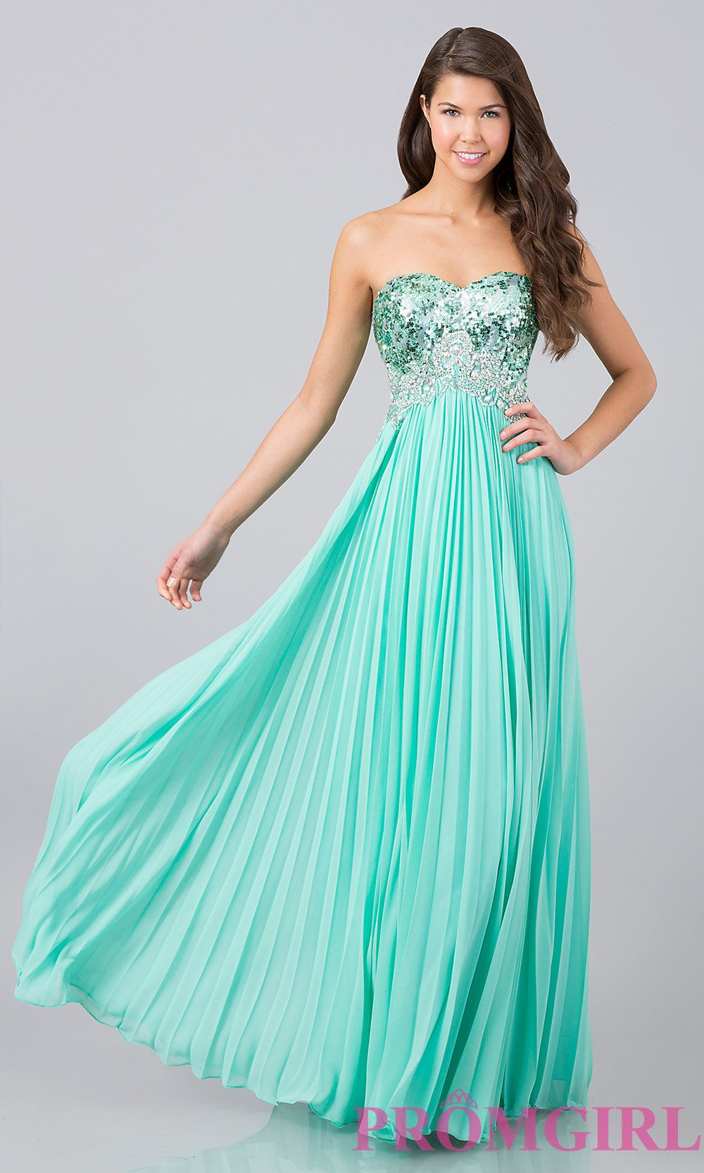 Long Prom Dress Style: DQ-8643 Front Image   prom   Pinterest   Prom ...