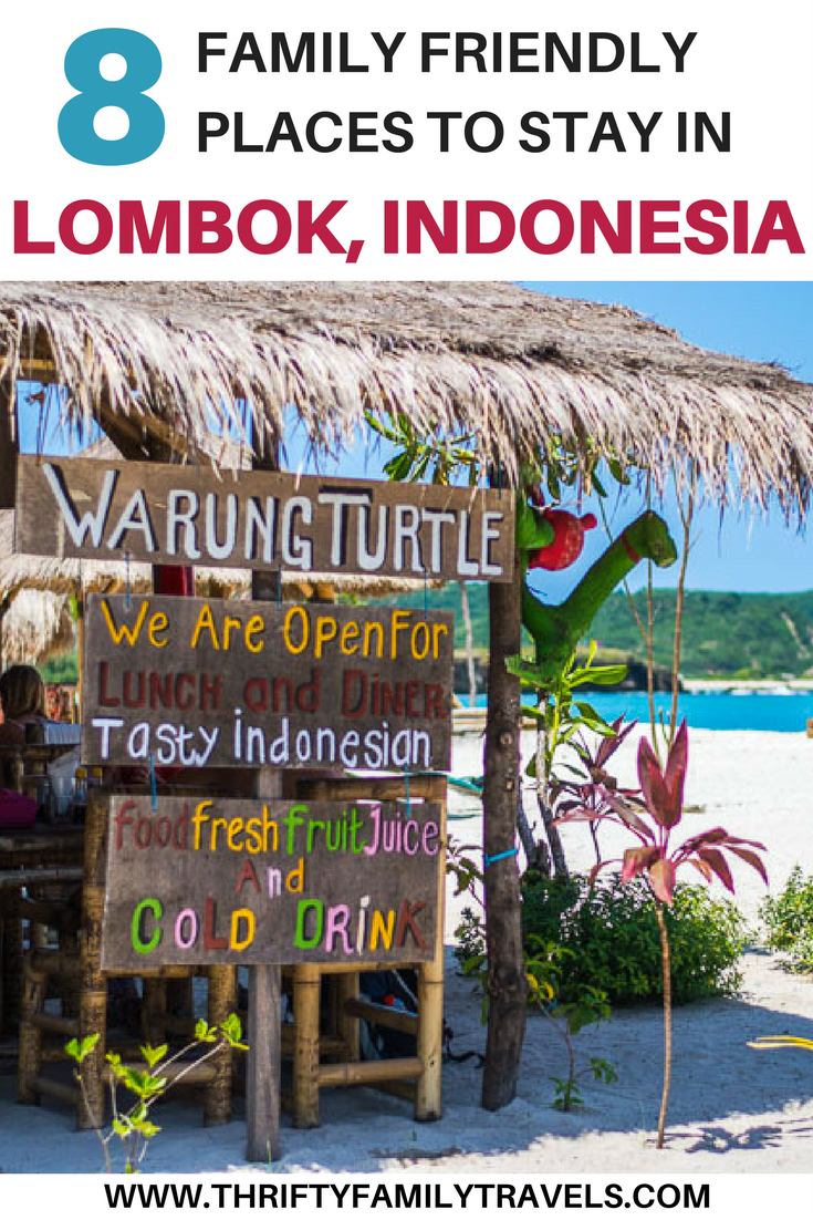 Lombok, Indonesia is a beautiful and affordable travel destination. We will share some of our favorite family friendly activities in Lombok including the best family beaches in Lombok, hikes in Lombok, restaurants in Lombok, places to stay in Lombok, and much more. Make sure you save this Lombok travel guide to your travel board so you can find it later.