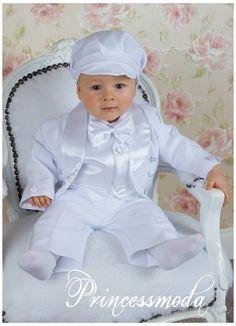 89a2864b La Mejor Moda Para Bebes: Trajes de Bautismo para Bebes. | Baby ...