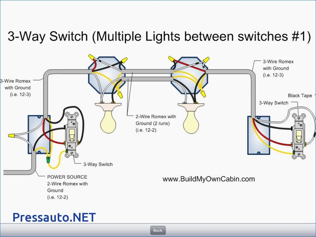 3 Way Switch Wiring Diagram Multiple Lights Westmagazine Net Throughout For Switches