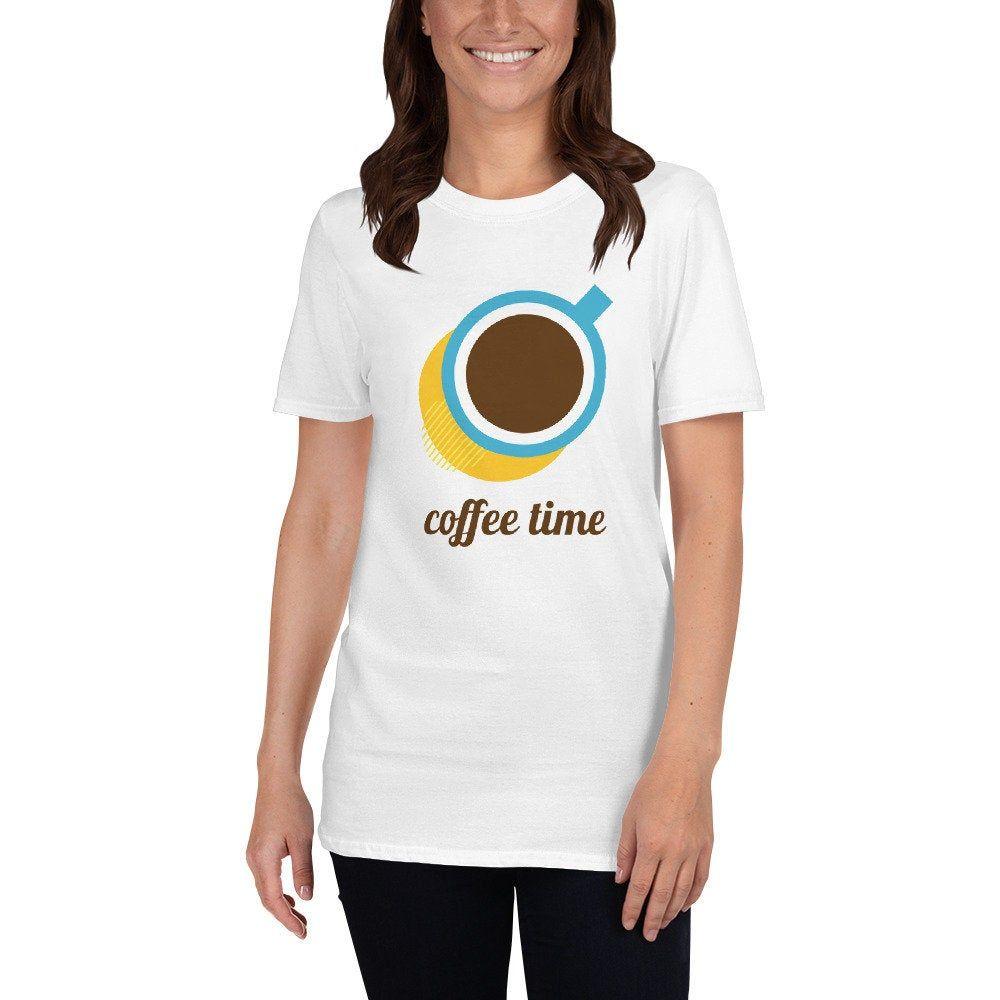 Coffee Time  Funny Short-Sleeve Unisex T-Shirt | Etsy