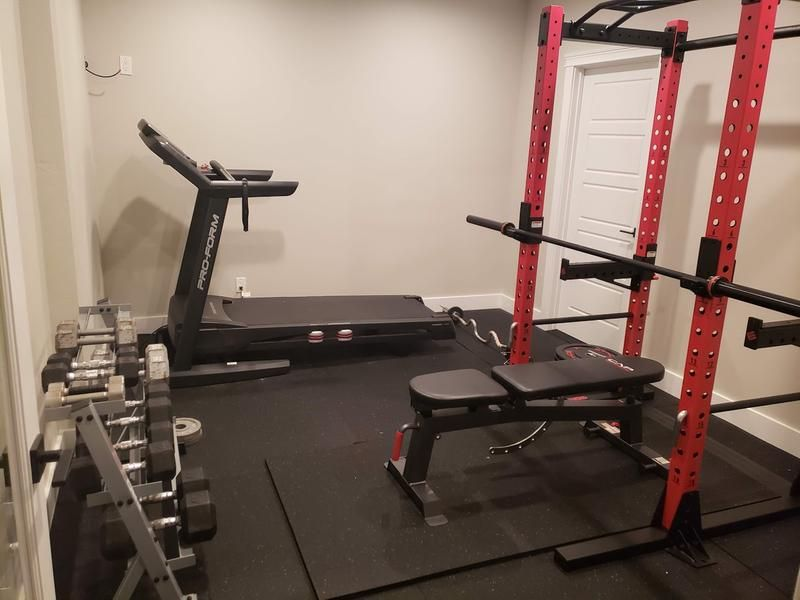 Review Photo 1 Workout Room Home Small Home Gyms Gym Room At Home