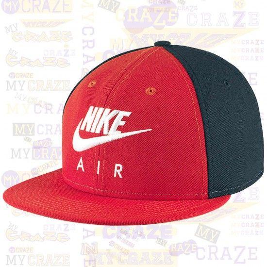 d171e403f Nike Air Seasonal Futura True Swoosh Hat Snapback Unisex Red Cap ...