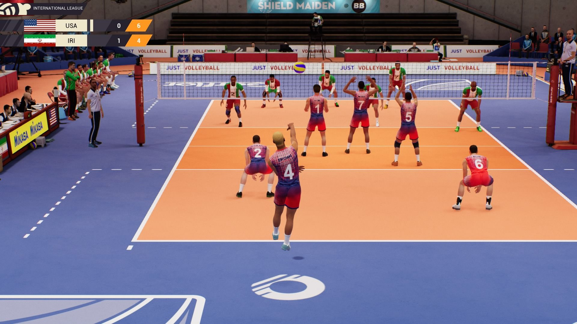 Spike Volleyball Ps4 Review Squarexo Spike Volleyball Volleyball Volleyball Games