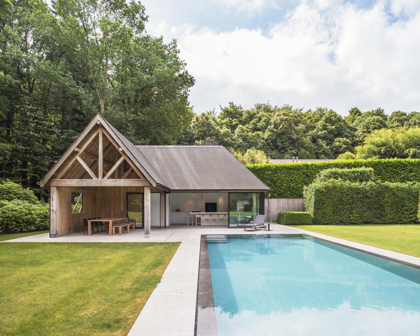 Obumex Modern Pool House Pool Houses Pool House Plans